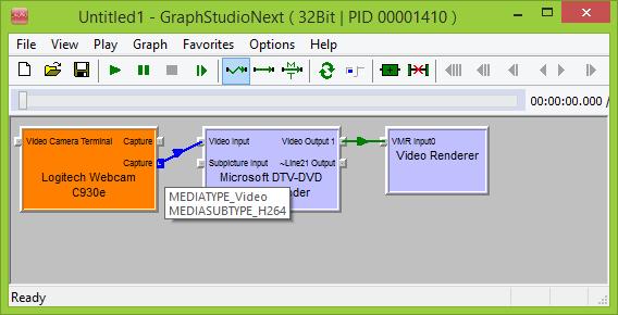 H.264 Video Capture with Logitech C930e
